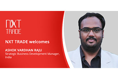NXT TRADE welcomes new team member Ashok Vardhan Raju