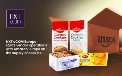 NXT eCOM Europe starts vendor operations with Amazon Europe on the supply of cookies.