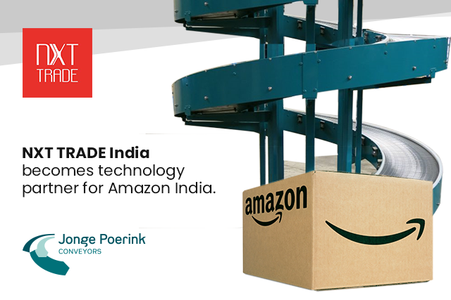 NXT TRADE India becomes a technology partner for Amazon India.
