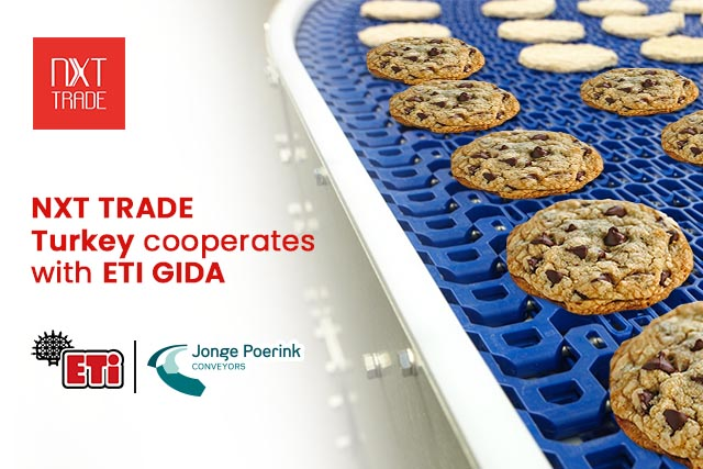 NXT TRADE Turkey signed a cooperation agreement with ETI GIDA in Turkey on behalf of its technology partner Jonge Poerink Conveyors (JPC).